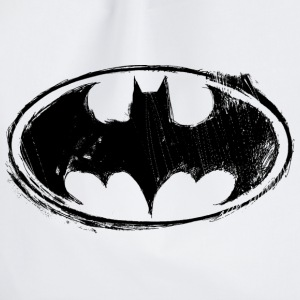 Batman Logo black retro