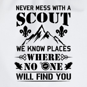 Never mess with a Scout no one will find you