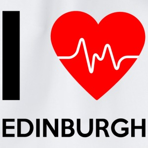 J'aime Edinburgh - I love Edinburgh - Sac de sport léger