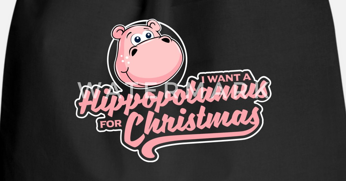 I Want A Hippopotamus For Christmas - Xmas Wunsch von Mister Tee ...
