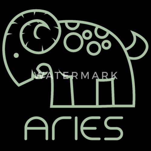 Sternzeichen Widder Aries April Mai Geschenk Bock Turnbeutel