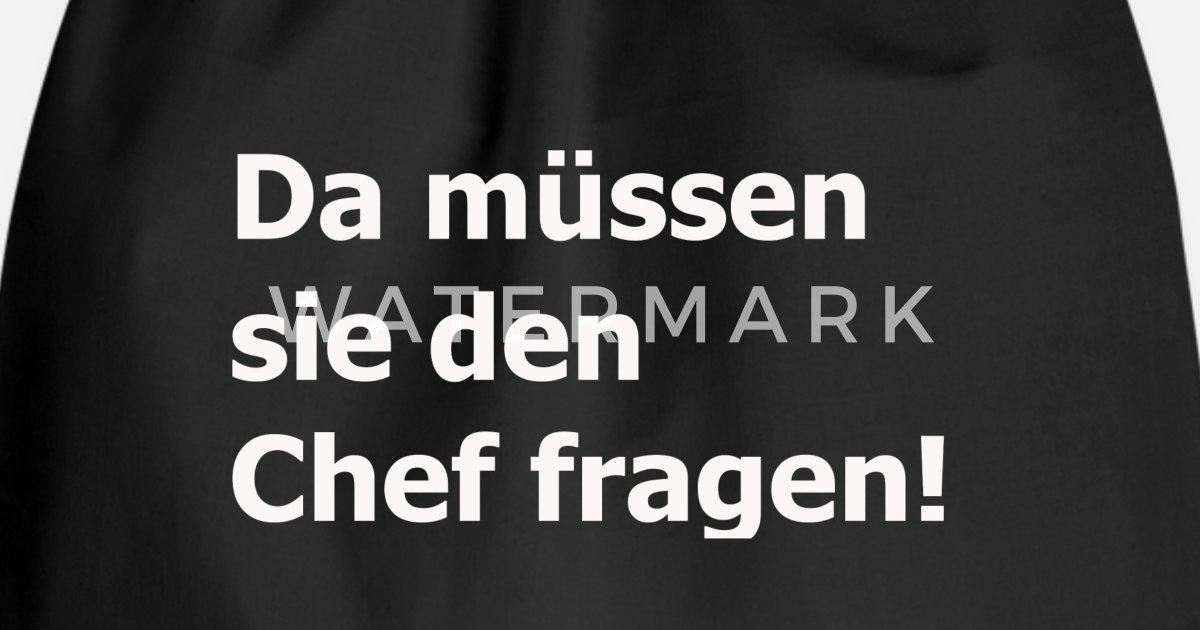 Chef fragen! Handwerk Geschenk Lustig von ElMaestro31   Spreadshirt