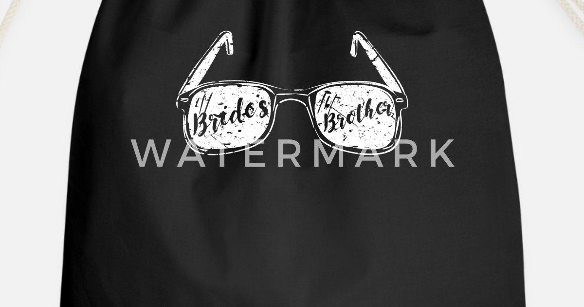 576c49ad4ca Bride brother single Drawstring Bag