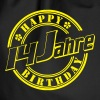 14 Happy Birthday   - Turnbeutel