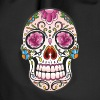 Mexican Sugar Skull, day of the dead - Drawstring Bag