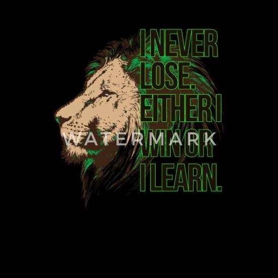 ich verliere nicht ich lerne