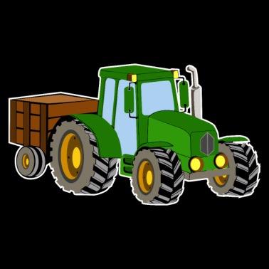 Traktor Kinder Geschenk Stoffbeutel | Spreadshirt
