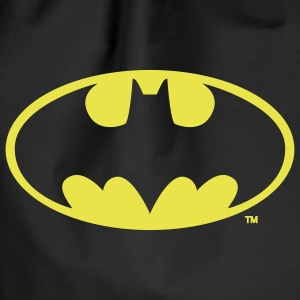 Batman Logo in gold-metallic Look