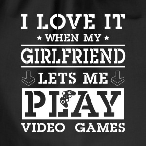 My girlfriend lets me play video games