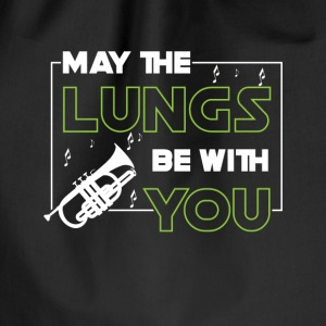May the lungs be with you - trumpet player