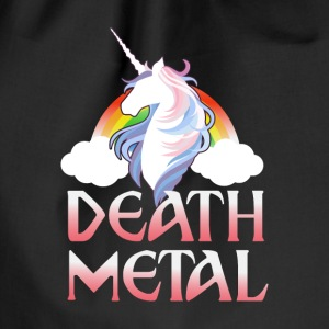 Death Metal - magical rainbow unicorn