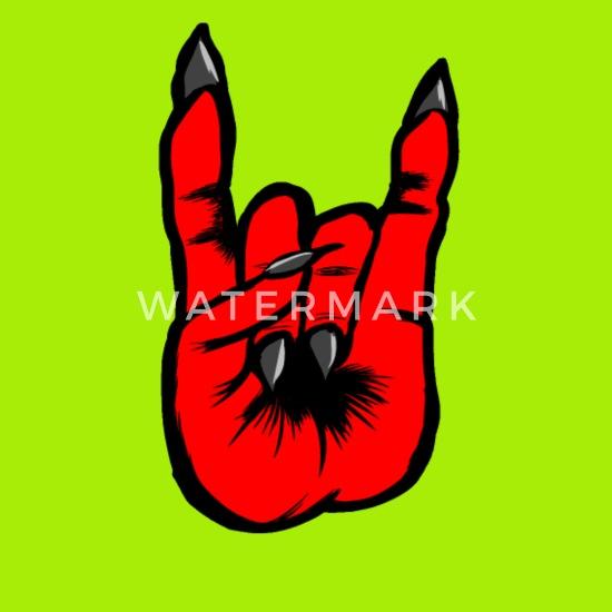 Heavy Metal Diable Rock Signe Rocker Punk Satan Sac à Dos