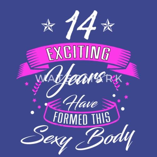 Geburtstag 14 Jahre Shirt Geburtstag Sexy Turnbeutel Spreadshirt