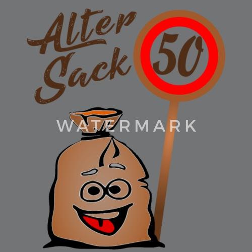 Alter Sack 50 Geburtstag 50 Funfzig Turnbeutel Spreadshirt
