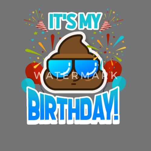 Geburtstag Emoji Von Masta Tee Spreadshirt