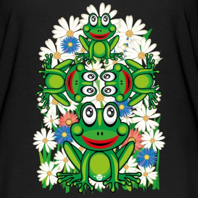 16 Blumen Frosch Frösche - Women's Batwing-Sleeve T-Shirt by Bella + Canvas