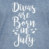 Divas are born in July - Men's Vintage T-Shirt