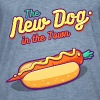 The New Dog in the Town - Men's Vintage T-Shirt