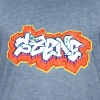 Graffiti - SIR - Männer Vintage T-Shirt