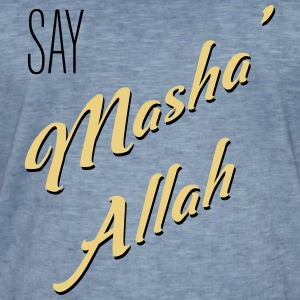MashaAllah - T-shirt vintage Homme