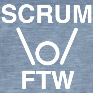 SCRUM FTW - scrum for the win - Men's Vintage T-Shirt