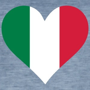 A Heart For Mexico - Men's Vintage T-Shirt
