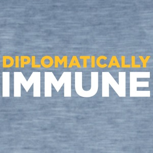 Diplomatically Immune! - Men's Vintage T-Shirt