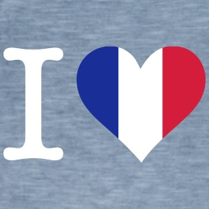 I Love France - Men's Vintage T-Shirt