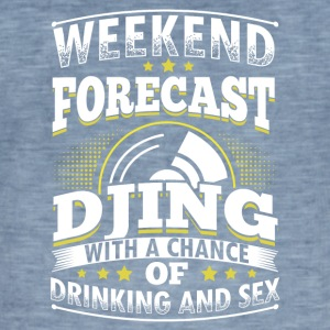 WEEKEND PROGNOSE DJing - Herre vintage T-shirt