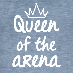 Queen of the arena - Vintage-T-skjorte for menn