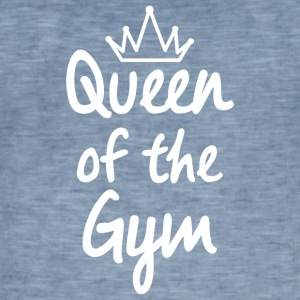 Queen of the Gym - Vintage-T-skjorte for menn