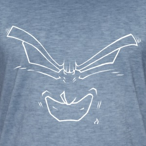 Smile - Vintage-T-skjorte for menn