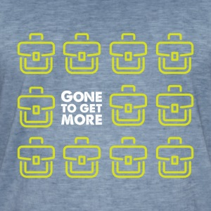 Gone to Get More! - T-shirt vintage Homme