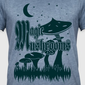 magic Mushrooms - Camiseta vintage hombre