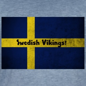 Swedish Vikings - Vintage-T-shirt herr