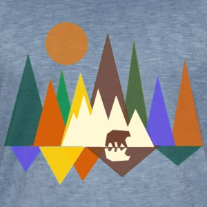 forest - Men's Vintage T-Shirt