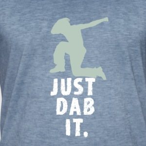 just dab it attitude touchdown crass funny humor L - Men's Vintage T-Shirt