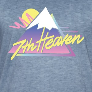 7th Heaven - Vintage-T-shirt herr