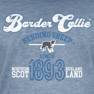 Border Collie - Since1893 - Herre vintage T-shirt
