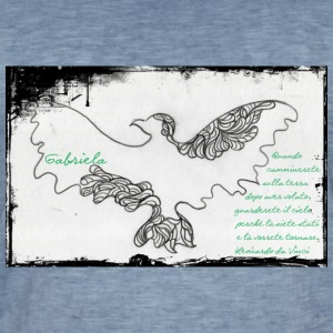 elegant eagle - Men's Vintage T-Shirt