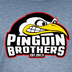 PinGuiN-Brothers Clan - Men's Vintage T-Shirt