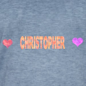 Christopher - Men's Vintage T-Shirt