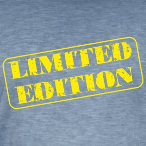 Limited Edition - Vintage-T-shirt herr