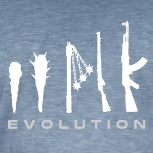 våben evolution - Herre vintage T-shirt