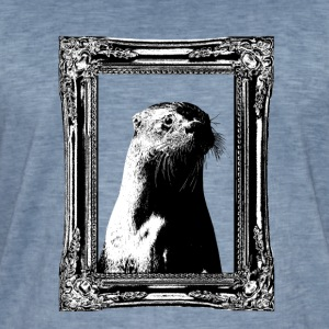 Historic Otter - Men's Vintage T-Shirt