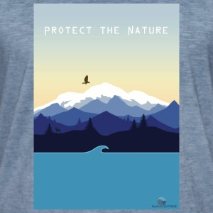 Protect Nature - T-shirt vintage Homme