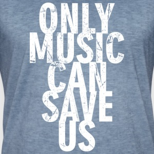 Music can Save Us - Männer Vintage T-Shirt