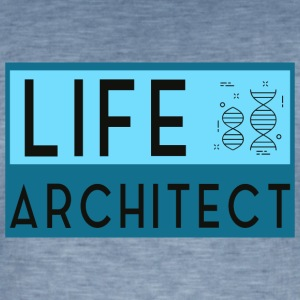 Life Architect - Männer Vintage T-Shirt
