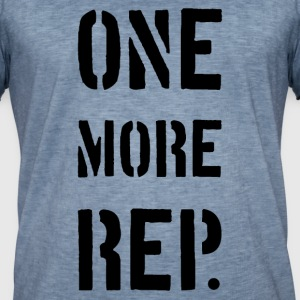 ONE MORE REP - Mannen Vintage T-shirt