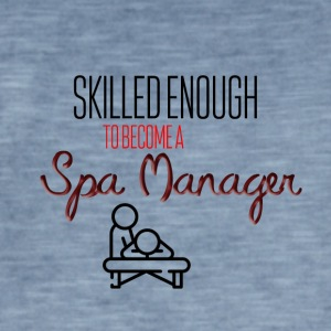 Spa Manager - Mannen Vintage T-shirt